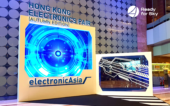 Results of Autumn Fairs in China: Ready for Sky at Hong Kong Electronics Fair and Canton Fair