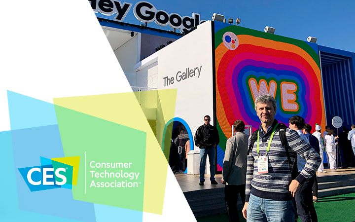 Ready for Sky at CES 2018 in Las Vegas
