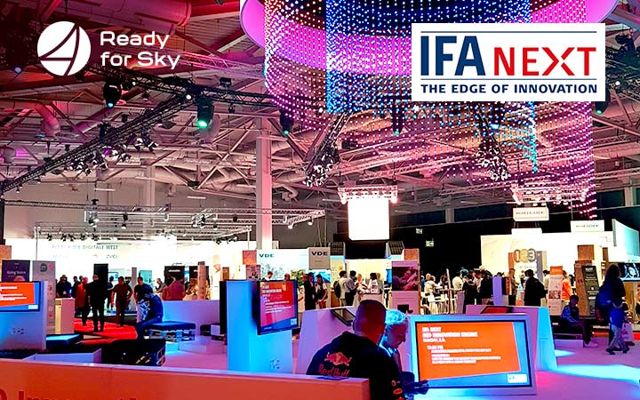 Ready for Sky has announced the release of its own voice assistant at IFA 2018