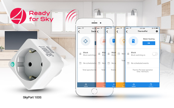 Smart socket with advanced software capabilities to control any device from your smartphone has now become a reality!