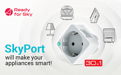 New Features of Smart Socket SkyPort 103S