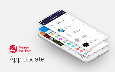 Global Update of the Ready for Sky Mobile App for iOS and Android